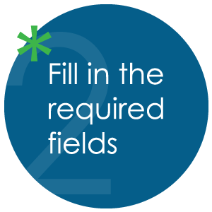 Fill in the required fields